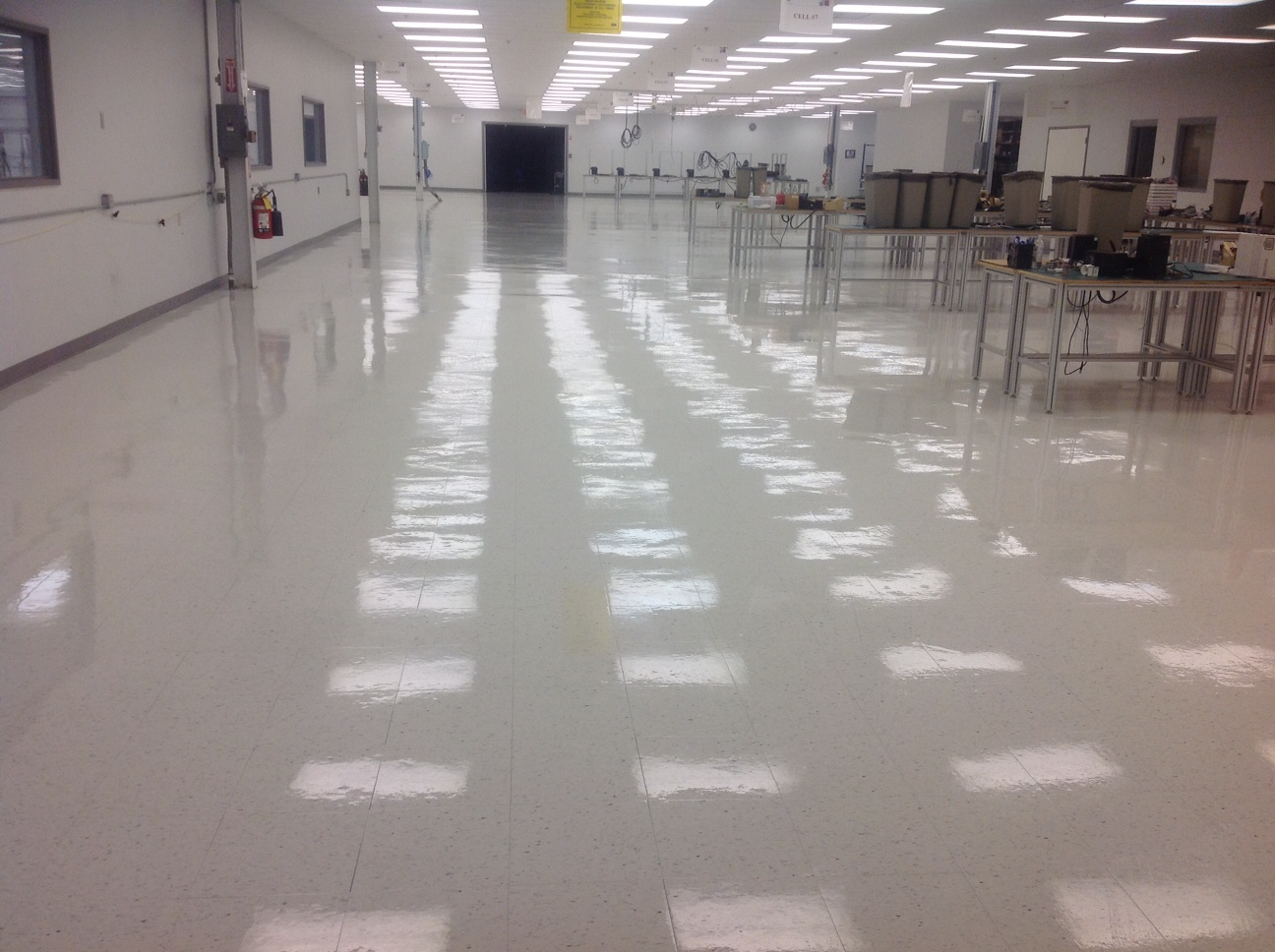 Commerical Floors Stripping and Waxing